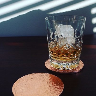 Rose Gold Coaster