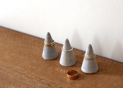 Concrete Ring Cone - Home