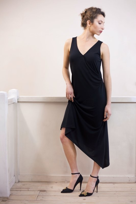 Rosemary - Wrap around dress