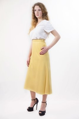 Clarisse - Side Split Skirt