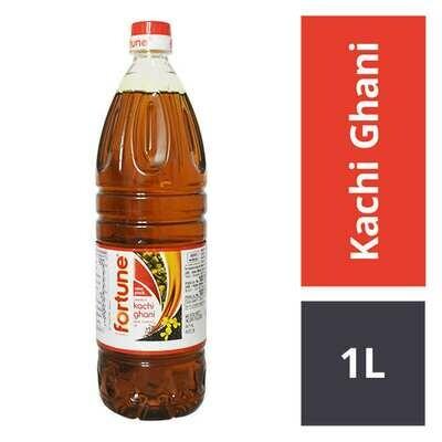 Fortune Kachi Ghani Mustard Oil 1ltr.