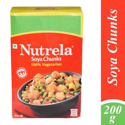 Nutrela Soya Chunks 200gm