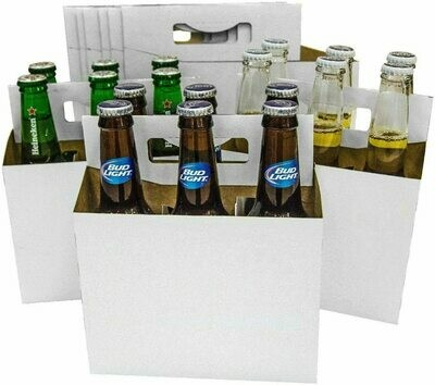 6 Pack of Domestic Beers