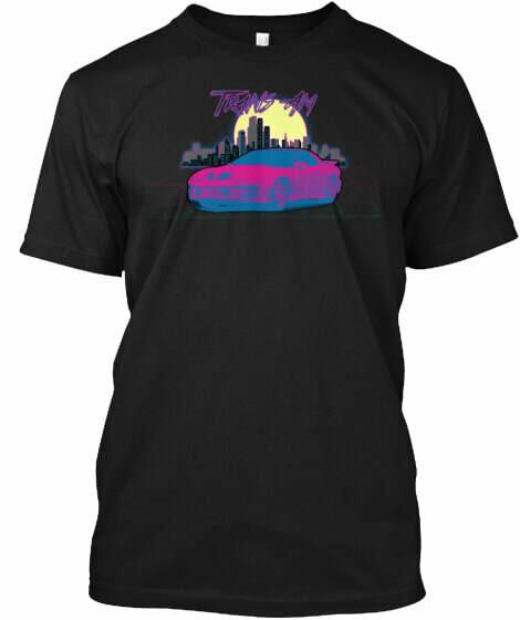 Retro Cityscape Firebird (3rd & 4th Generation) T-Shirt