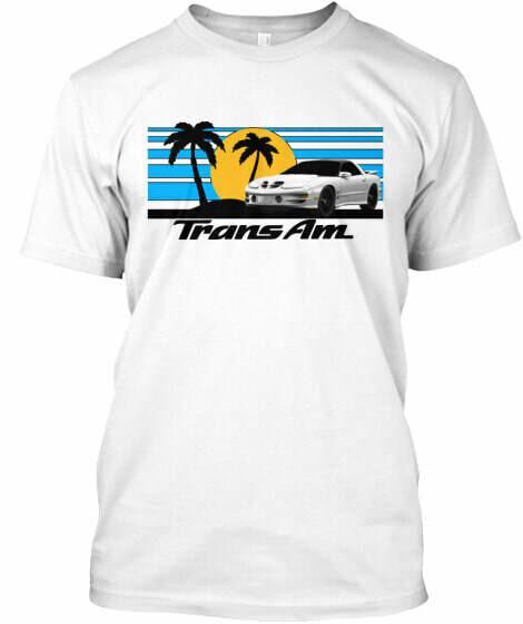 Sunset Beach Firebird (3rd & 4th Generation) T-Shirt