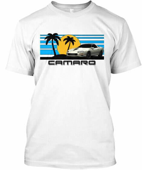 Sunset Beach Camaro (3rd & 4th Generation) T-Shirt