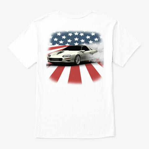 Camaro USA Burnout (3rd & 4th Generation) T-Shirt