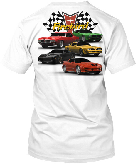 Firebird Stacked Generations T-Shirt
