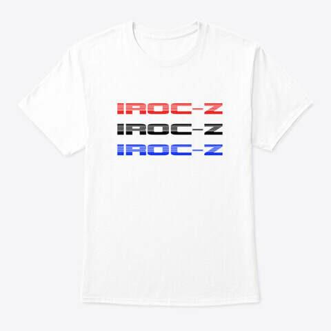 IROC-Z Retro Stack T-Shirt