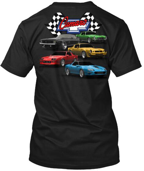 Camaro Stacked Generations T-Shirt