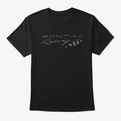 Pontiac Racing Grey T-Shirt