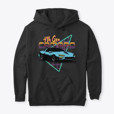 Retro Triangle Camaro (All Generations) Hoodie
