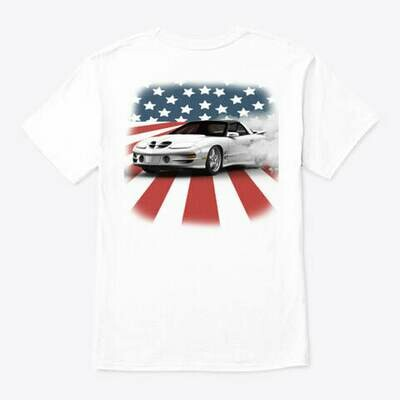 Firebird USA Burnout (3rd & 4th Generation) T-Shirt