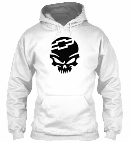 Chevy Skull Hoodie