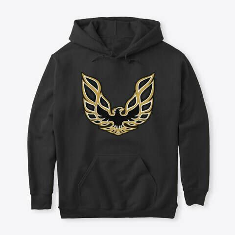 Pontiac Firebird Logo Hoodie