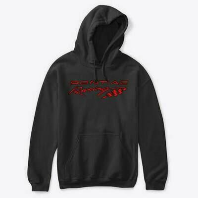 Pontiac Racing Red Hoodie