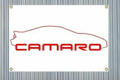 "Camaro Outline (24""x36"") Banner"