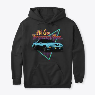 Firebird Retro Triangle (All Generations) Hoodie