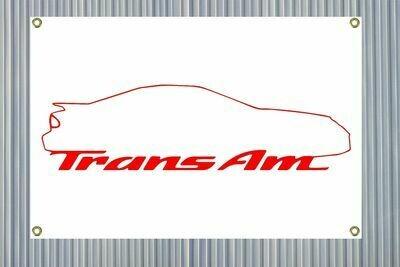 "Trans Am Outline (24""x36"") Banner"