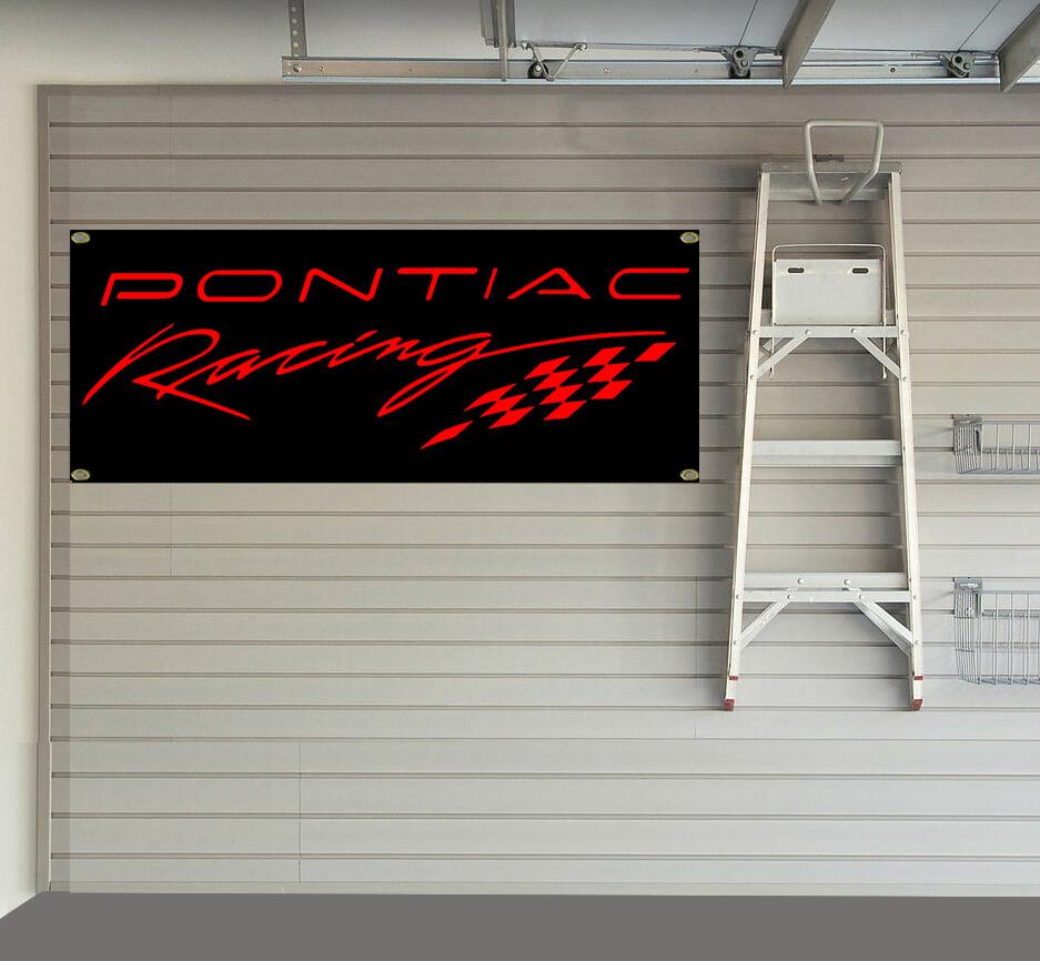 Pontiac Racing Banner Banner