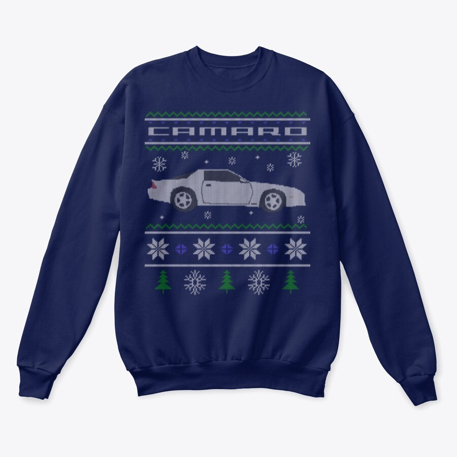 3rd Gen Camaro Holiday Sweater/Hoodie