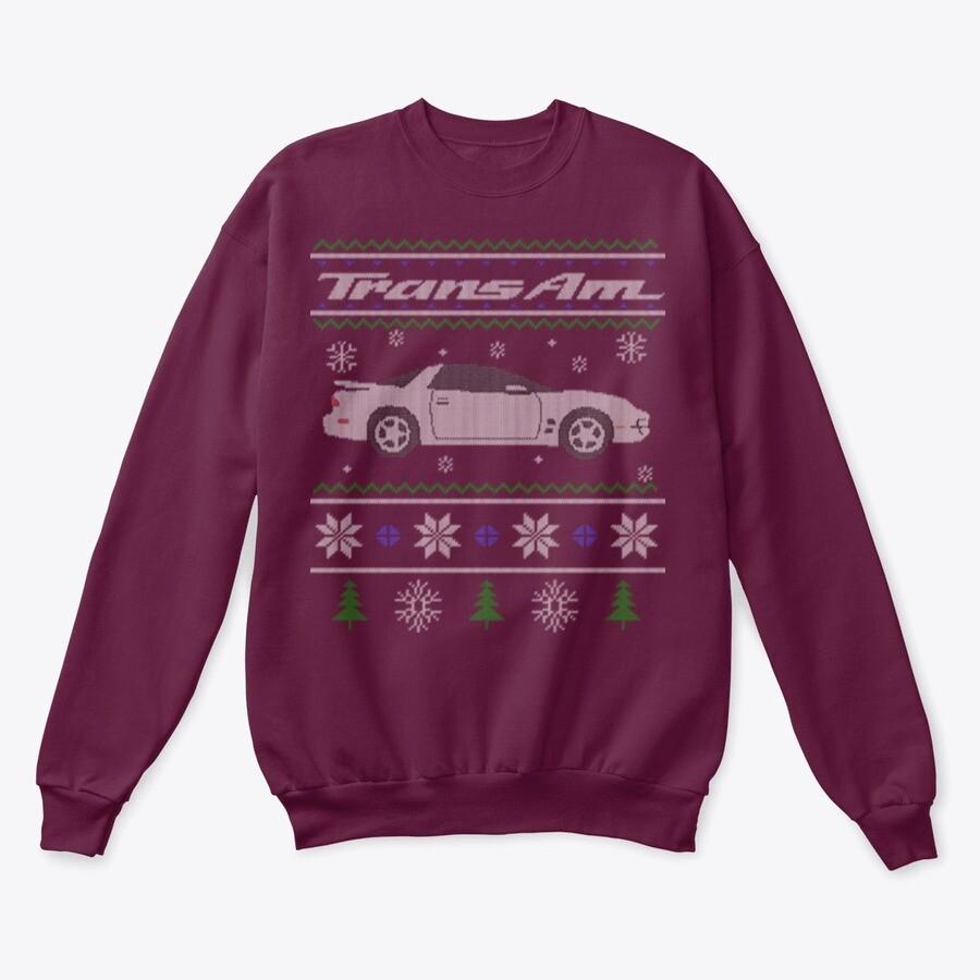 4th Gen Firebird/Trans Am Holiday Sweater/Hoodie