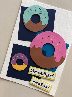 Donut Forget About Us!
