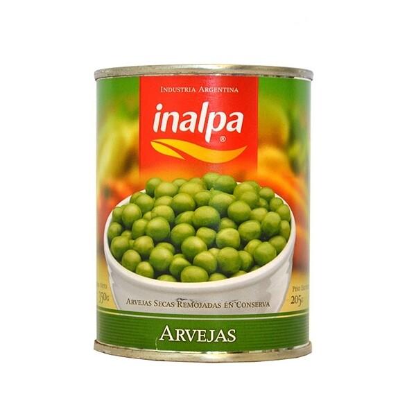 ARVEJAS, INALPA, 350 gr