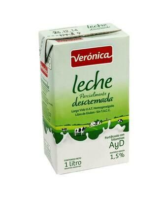 LECHE DESCREMADA LARGA VIDA,VERONICA,  x 1 lt