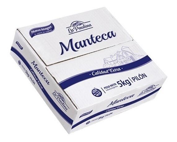 MANTECA LA PAULINA FRACCIONADO x 250 gr