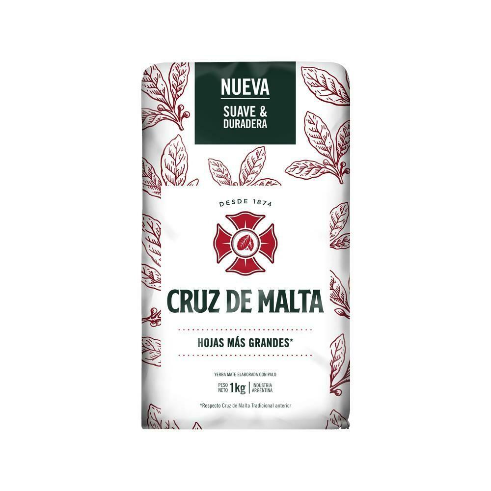 YERBA MATE, CRUZ DE MALTA, x 1 kg