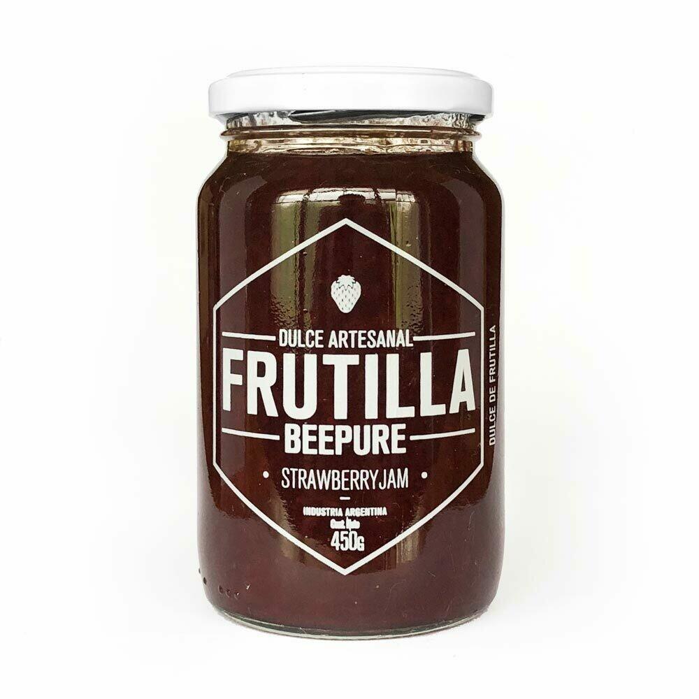 DULCE DE FRUTILLAS, BEEPURE, 450 gr