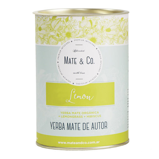 MATE LEMON DETOX, LATA 240 GS, MATE & CO