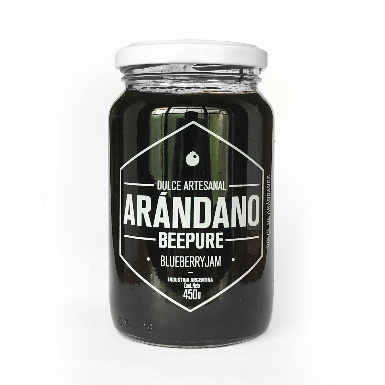MERMELADA DE ARANDANOS BEEPURE, 450 gr