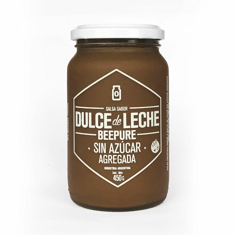 DULCE DE LECHE SIN AZUCAR BEEPURE, 400 gr