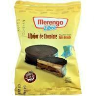 ALFAJOR CHOCOLATE SIN TACC, MERENGO