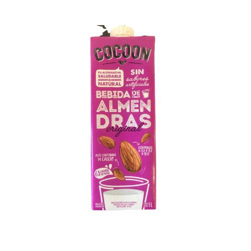 LECHE DE ALMENDRAS, COCOON, 1 lt