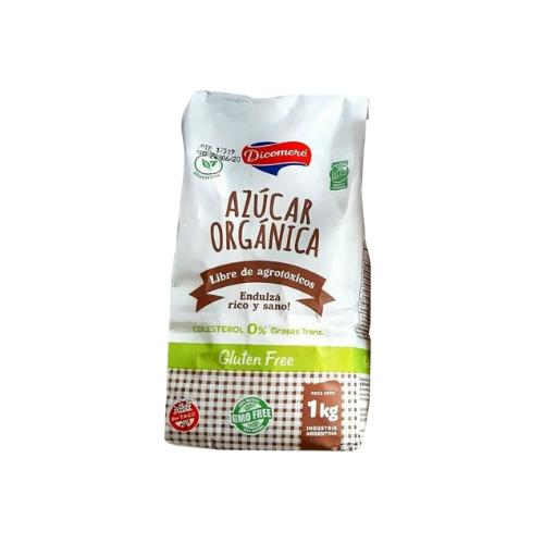 AZUCAR RUBIA ORGANICA, DICOMERE, x 1 kg