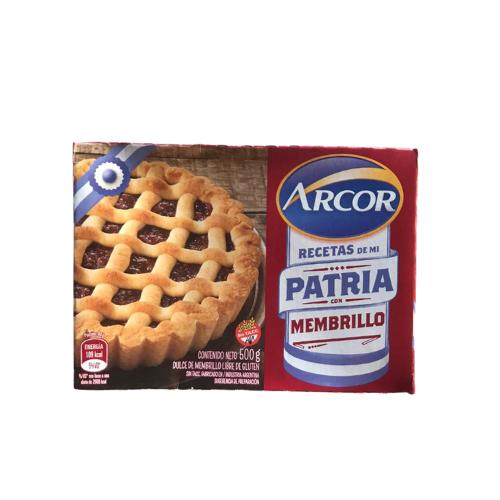 DULCE DE MEMBRILLO, ARCOR, x 500 gr
