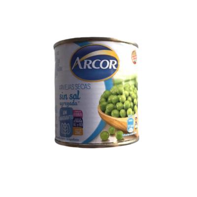 ARVEJAS SIN SAL, ARCOR, x 300 gr