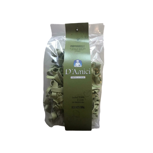 PAPPARDELLE ESPINACA D´AMICI X 500 GR
