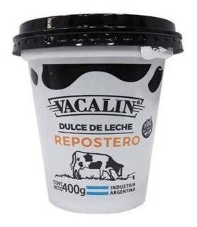 DULCE DE LECHE REPOSTERO, VACALIN, 400 GR