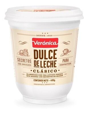 DULCE DE LECHE CLASICO, VERONICA, 400 gr