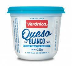 QUESO BLANCO, VERONICA, 250 GR
