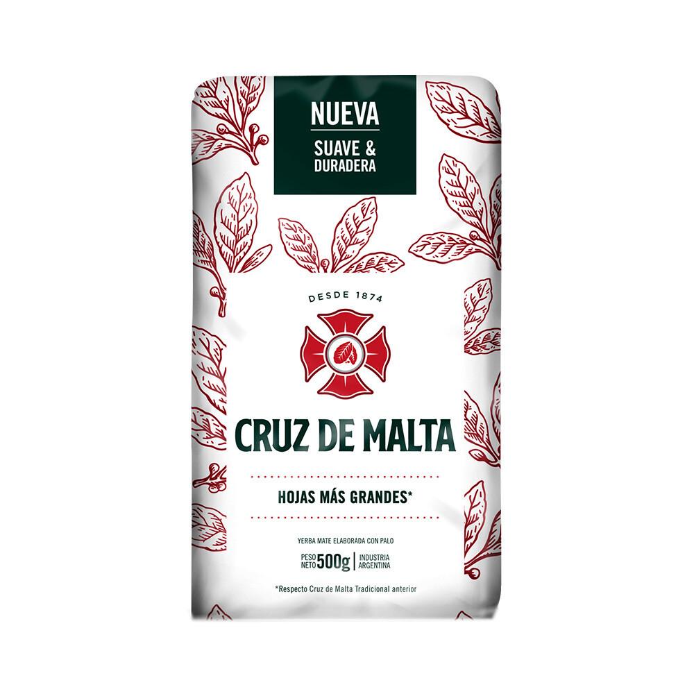 YERBA MATE, CRUZ DE MALTA, 500 GR