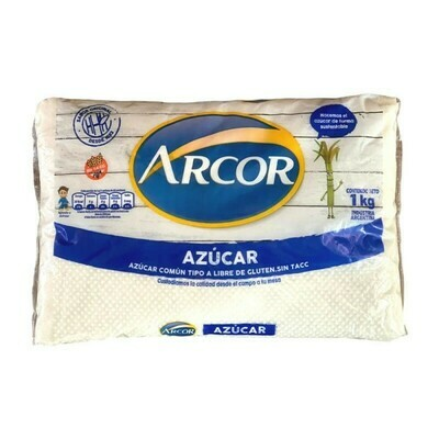AZUCAR COMUN, ARCOR, 1 KG