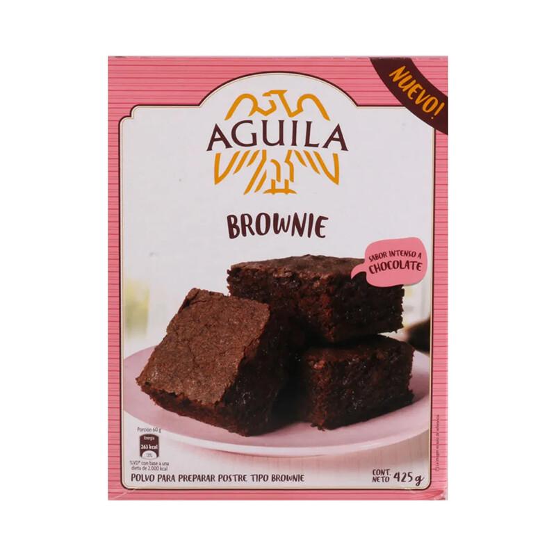 POLVO PARA PREPARAR BROWNIE, AGUILA, 425 GR