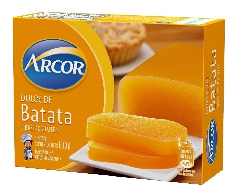 DULCE DE BATATA, ARCOR, 500 gr