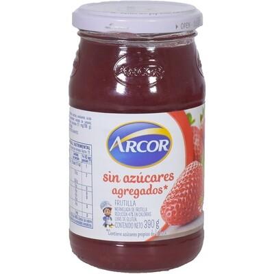 MERMELADA DE FRUTILLA SIN AZUCAR, ARCOR, 390 gr