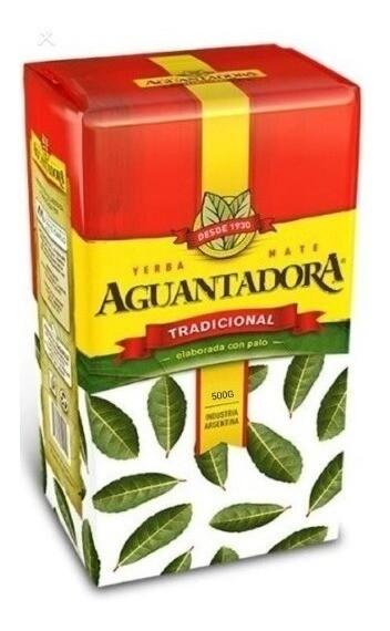 YERBA MATE TRADICIONAL, AGUANTADORA, 500 gr